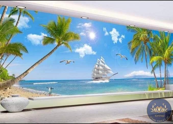 Tranh 3D thuận buồm xuôi gió hợp với một số tuổi khác nhau nên chú ý khi chọn tranh