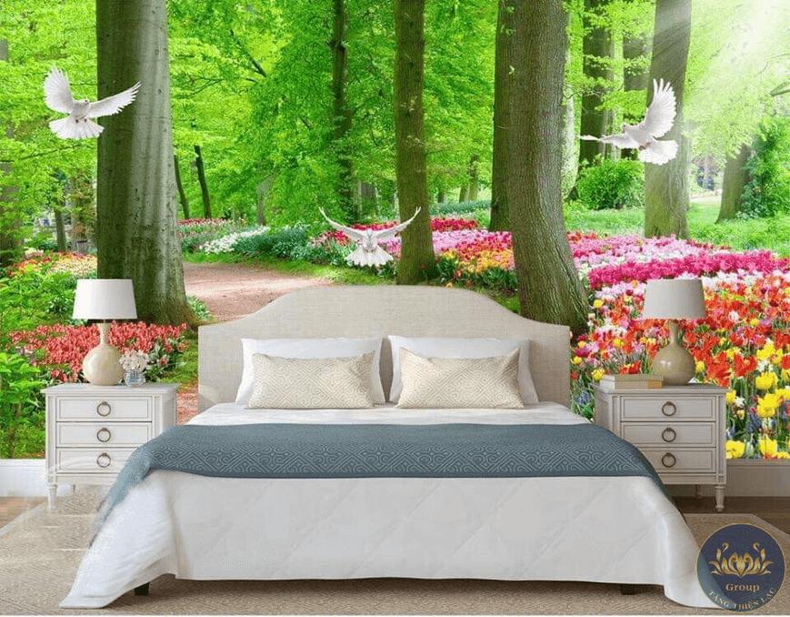 Tranh 5D thiên nhiên tạo cho giấc ngủ sâu hơn sau một ngày mệt mỏi