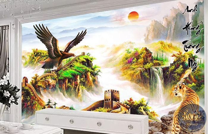 Việc chọn đúng tranh là cả một nghệ thuật, nó thể hiện gu thẩm mỹ và phong cách sống của chủ nhân