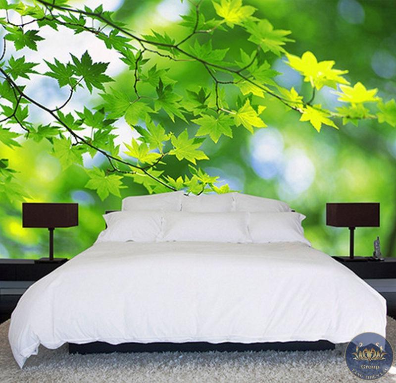 Tranh dán tường 3D phòng ngủ làm cho vợ chồng thấy hấp dẫn hơn