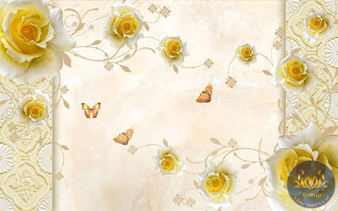 Nếu nói về độ kiêu sa, đài cát thì phải phải nhắc đến hoa hồng vàng
