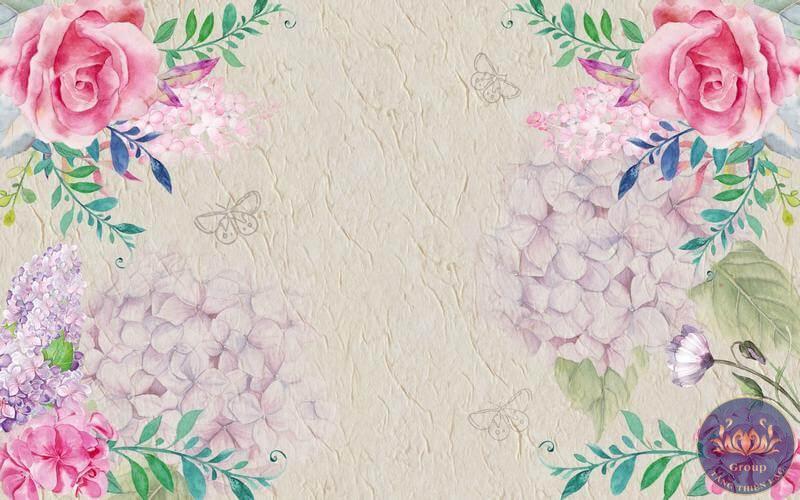 Tranh hoa hồng sơn dầu rất phù hợp với phong cách cổ điển