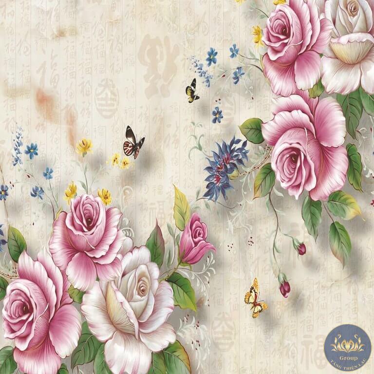 Hoa hồng là chủ đề vẽ tranh ưa thích của các họa sĩ tài ba khắp thế giới