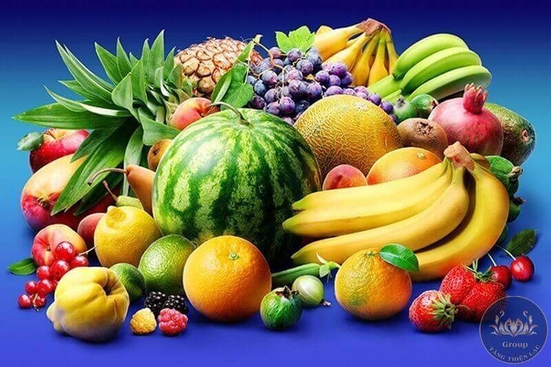 Tranh phòng bếp trái cây