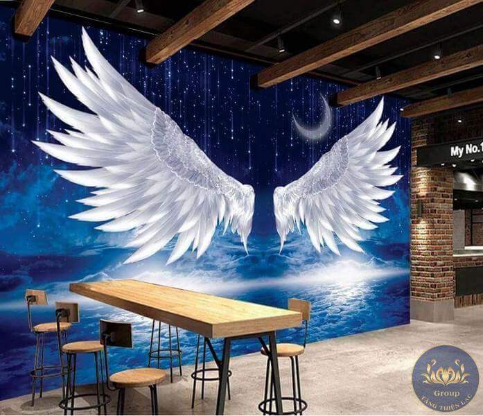 Tranh đôi cánh thiên thần
