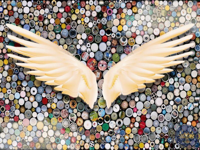 tranh đôi cánh thiên thần đẹp