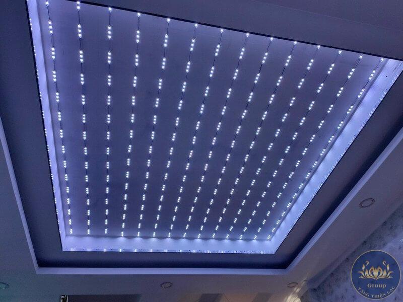 Hệ thống đèn Led trần xuyên sáng vô cùng quan trọng