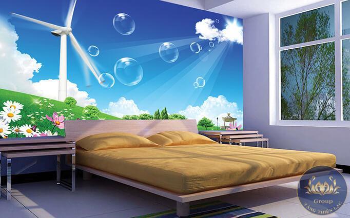 tranh đầu giường phòng ngủ