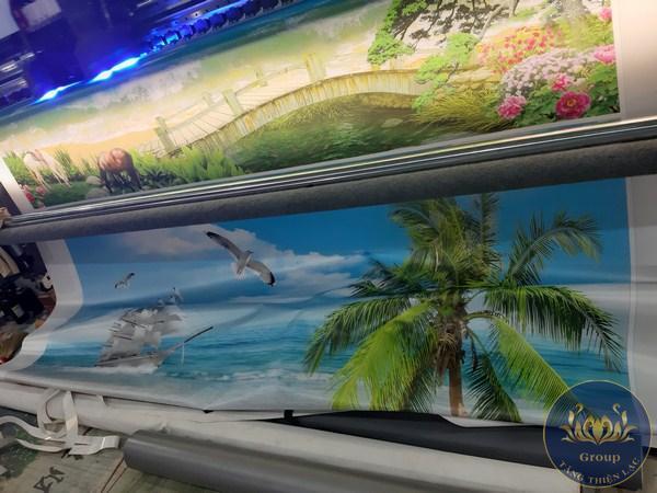 Tranh 3D 5D 8D có hình ảnh sắc nét, như thật