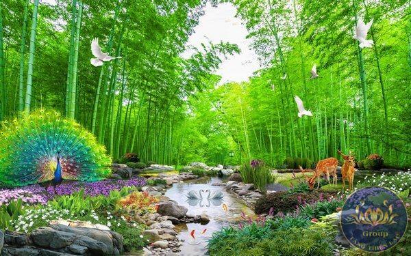 Tranh dán tường 3D Quận Bình Thạnh