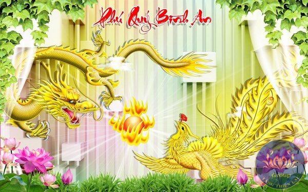 Tranh dán tường được bán tại Tăng Thiên Lạc có giá tốt nhất và chất lượng cao