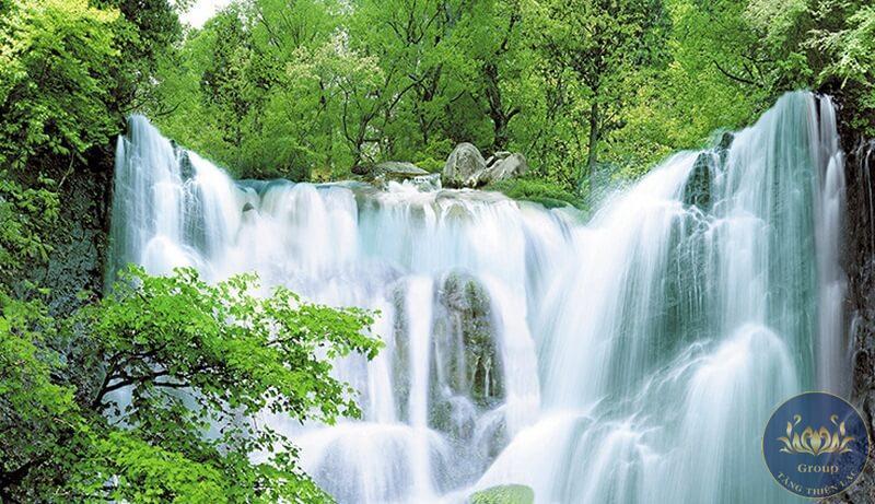 Những mẫu Tranh dán tường 3D phong cảnh thiên nhiên được yêu thích tại Tăng Thiện Lạc