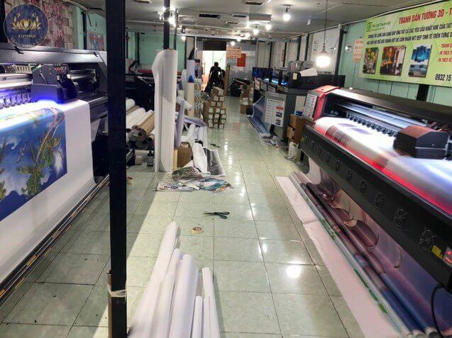 Xưởng in Tăng Thiện Lạc tại 2 thị trường lớn, TP.HCM – Hà Nội