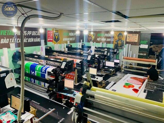 Xưởng in Tranh 3D Tăng Thiện Lạc đặt 2 thị trường lớn Tp.HCM - Hà Nội